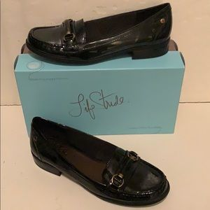 Life Stride Kissed Black Patent Loafer